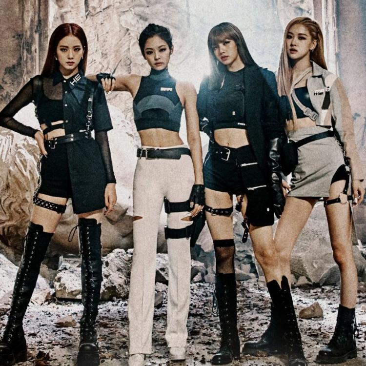 Teaser poster of  BLACKPINK's Kill This Love