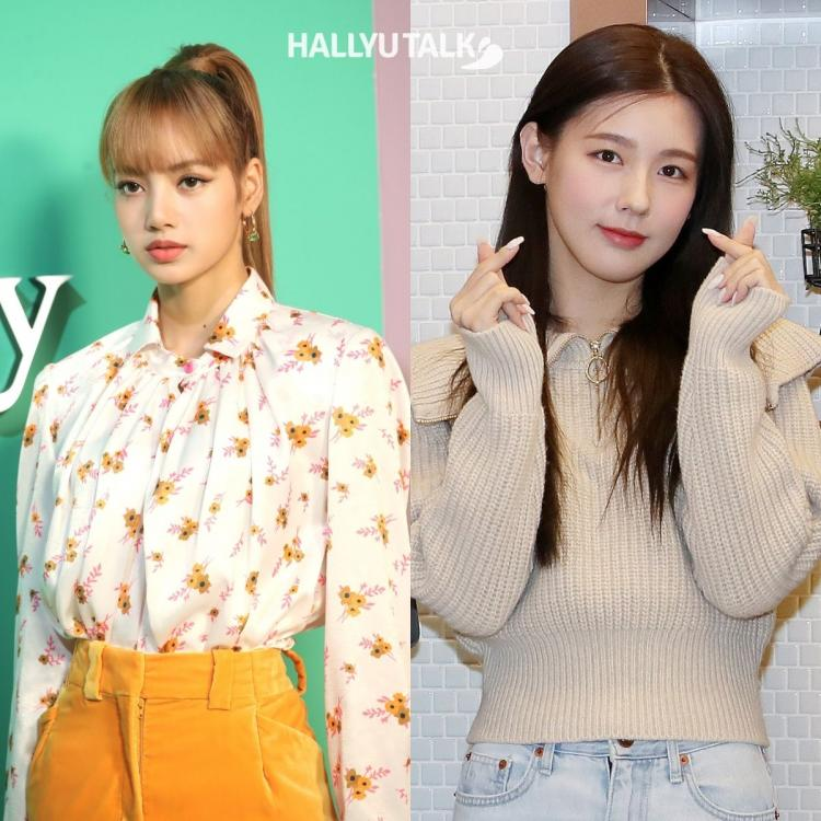 BLACKPINK's Lisa and GIDLE's YUQI clicked at an event