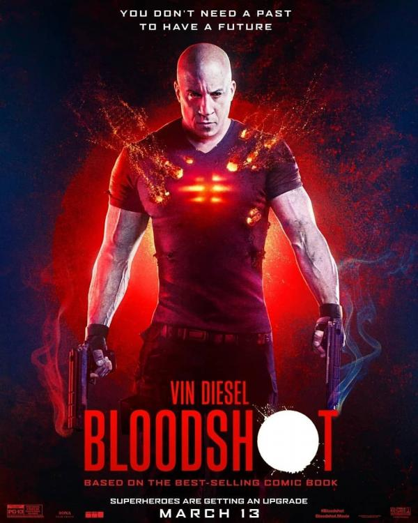 Bloodshot is based on the namesake character from Valiant Comics.