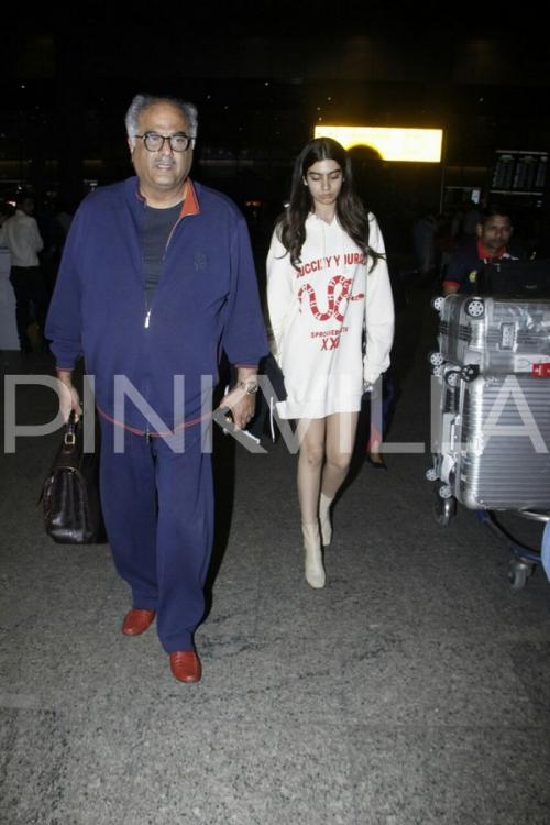Photos,boney kapoor,Khushi Kapoor