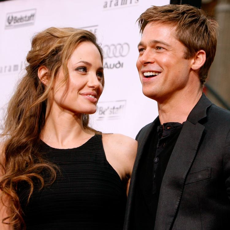 Pictures of ex couple Brad Pitt and Angelina Jolie in love