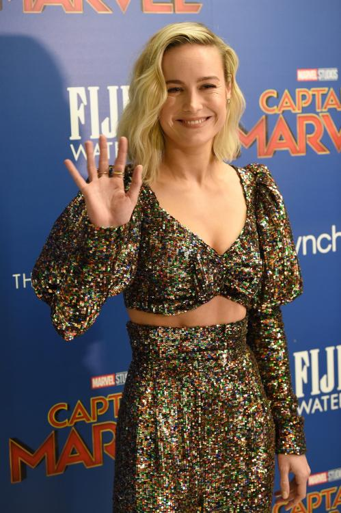 Brie Larson starrer Captain Marvel crossed the coveted $1 billion mark at the global box-office.
