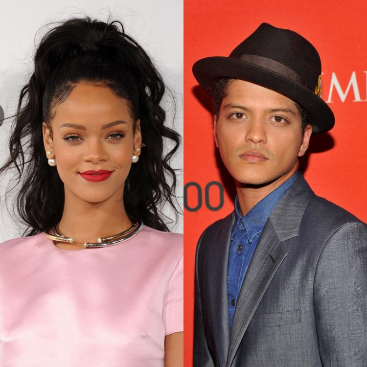 Bruno Mars says he's 'frustrated writing music'; Asks Rihanna to let him model for Fenty Skin campaign