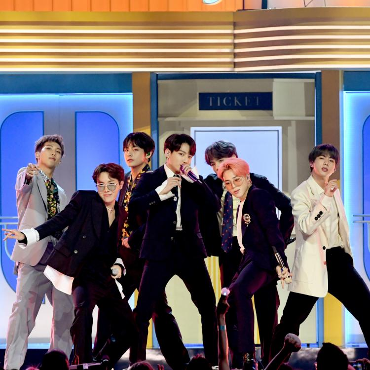 BTS wins BIG with their song Dynamite at Show! Music Core