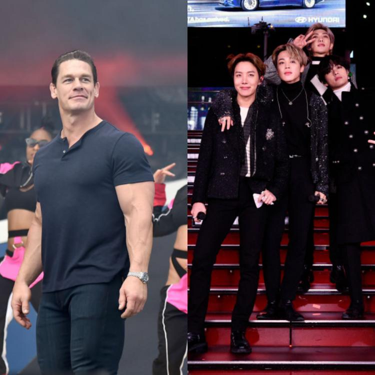 John Cena gushes about BTS