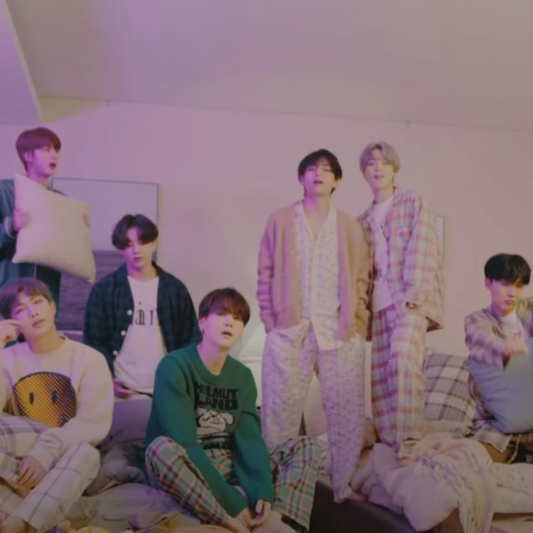 BTS heads into the bedroom for Life Goes On MV On My Pillow ver