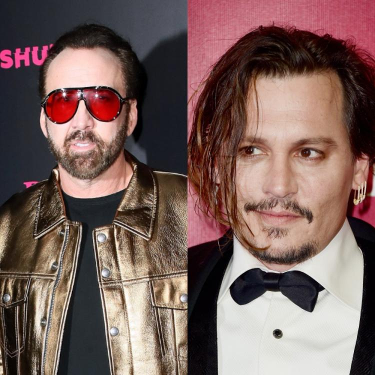 Nicolas Cage claims he pushed Johnny Depp into acting when he actually wanted to be a musician