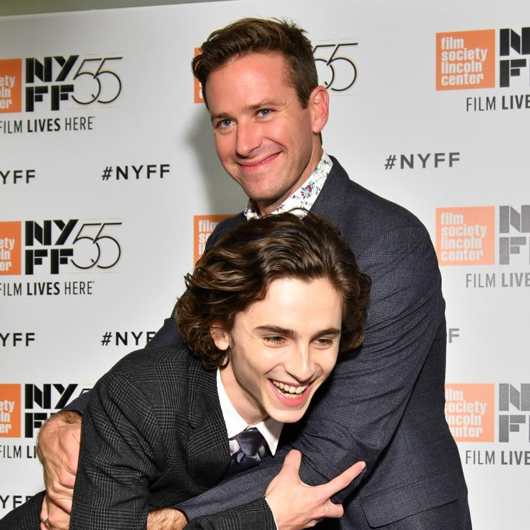 Call Me by Your Name: Armie Hammer comments on Timothee Chalamet's selfie