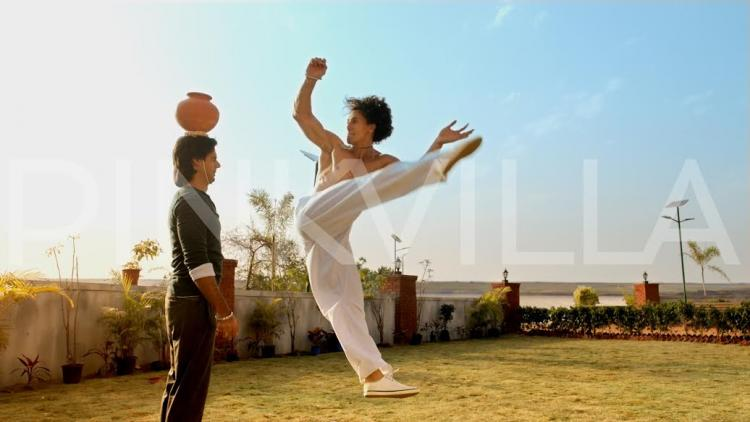 Catch A Flying Jatt's New Poster with Tiger Shroff & Nathan Jones