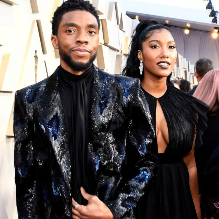 SAG Awards 2021: Chadwick Boseman's wife Taylor Simone Ledward quotes actor in moving acceptance speech.