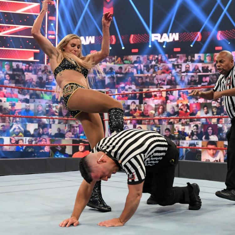 """Charlotte Flair questioned WWE's """"audacity"""" to fine her."""