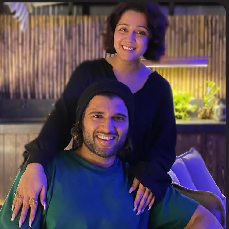 Charmme Kaur thanks 'her Liger' Vijay Deverakonda as he surprises her with a goodie box on her birthday
