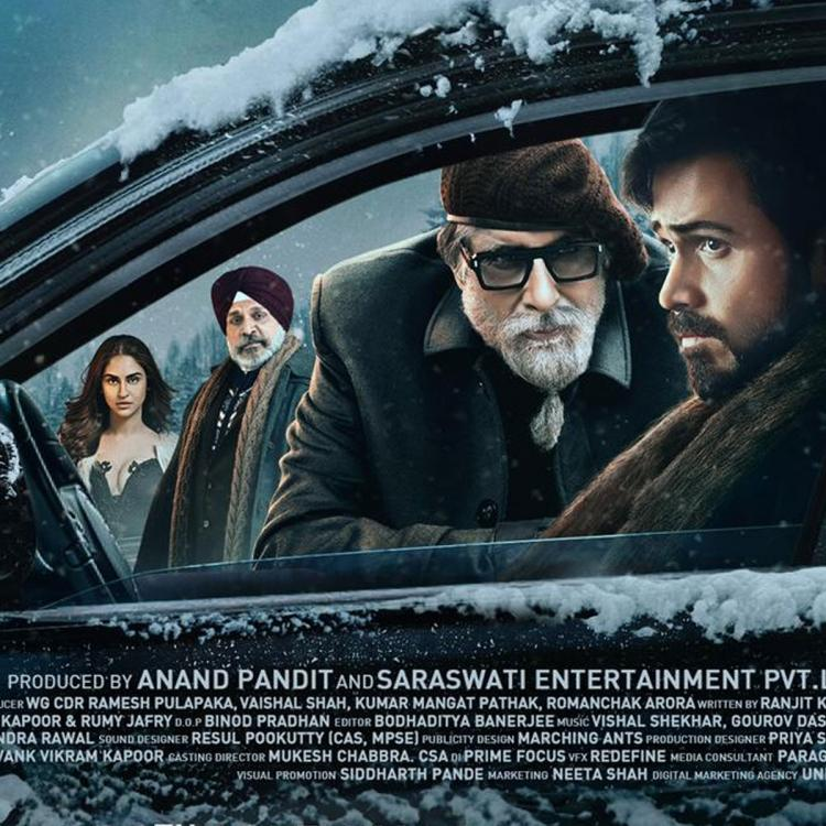 Chehre: Amitabh Bachchan unveils a new poster of his mystery thriller as he reveals the teaser date