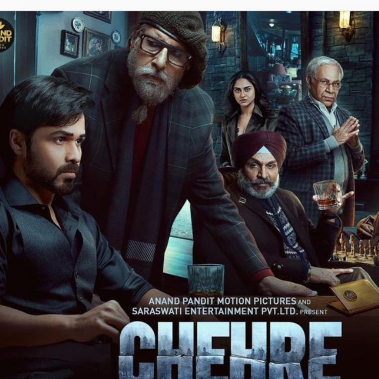 Chehre New Poster Out: Amitabh Bachchan and Emraan Hashmi starrer to  release on April 30 | PINKVILLA