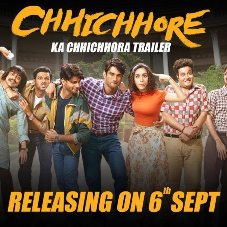 Chhichhore Trailer Out: Sushant Singh Rajput, Shraddha Kapoor starrer promises lot of laughter and friendship