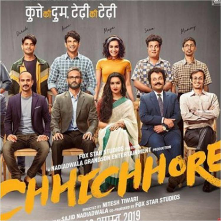Chhichhore Box Office Collection Day 1: Sushant Singh Rajput & Shraddha Kapoor's film off to a decent start