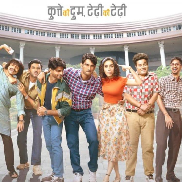 Chhichhore's new poster shows Shraddha Kapoor, Sushant Singh Rajput & friends at their goofiest best