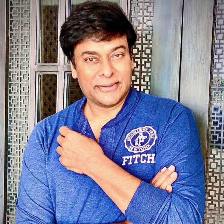 Chiranjeevi makes fans go gaga with his 'makeover mood'; Sports a clean shaven look