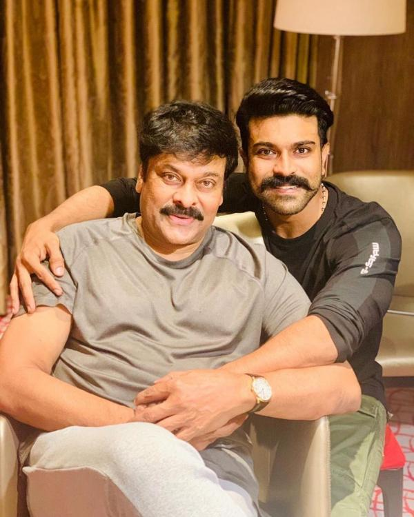 Ram Charan wishes father Chiranjeevi as Megastar turns 64; says 'You've  been an inspiration' | PINKVILLA