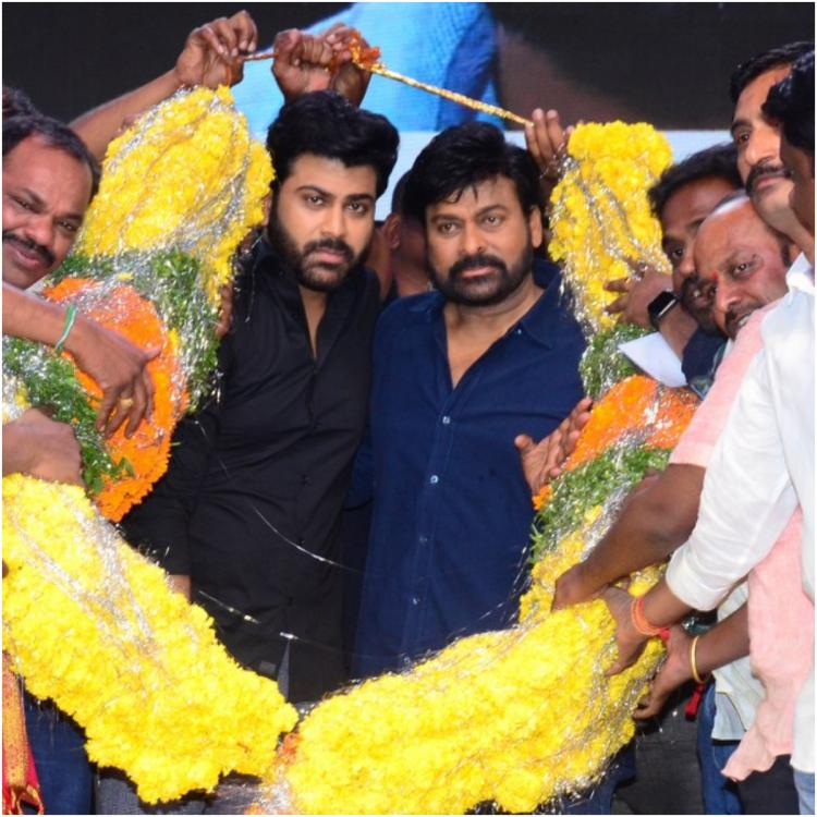Chiranjeevi is all praises for Sharwanand