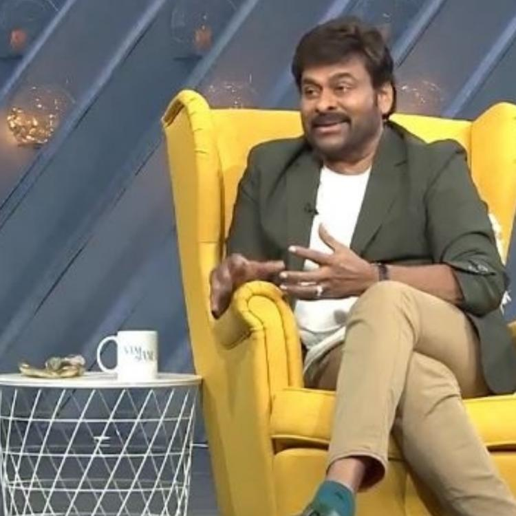 Megastar Chiranjeevi credits his success to Telugu audience when he appeared on Samantha Akkineni's talk show