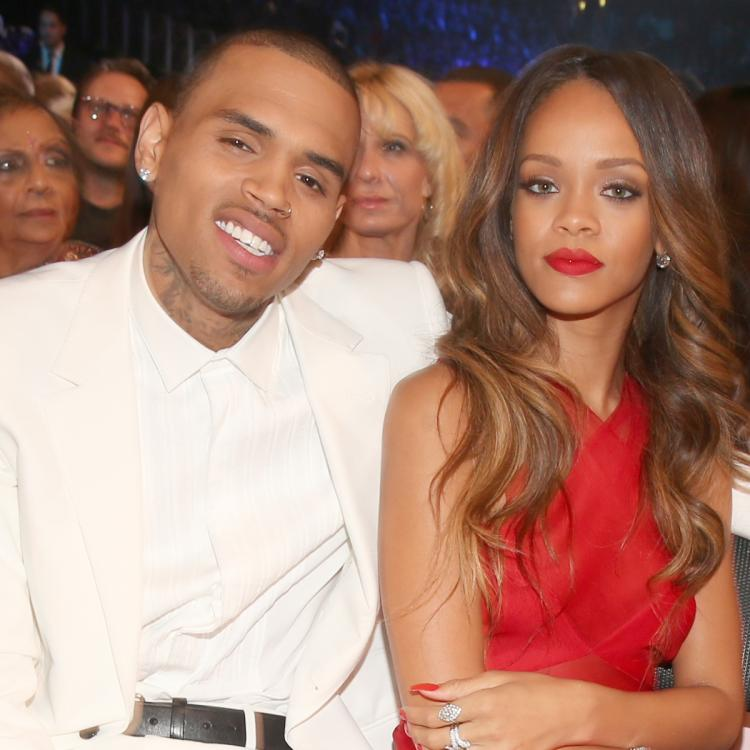 Chris Brown thirsting over Rihanna's sensual lingerie photo is UNMISSABLE; Check it out