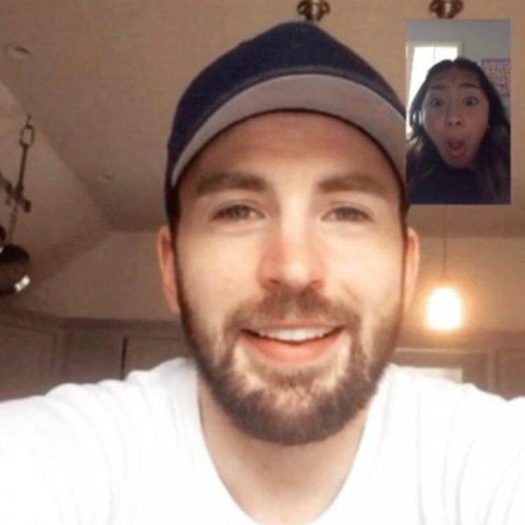 Avengers: Endgame's Chris Evans denies video calling a netizen as claimed by her; View tweet