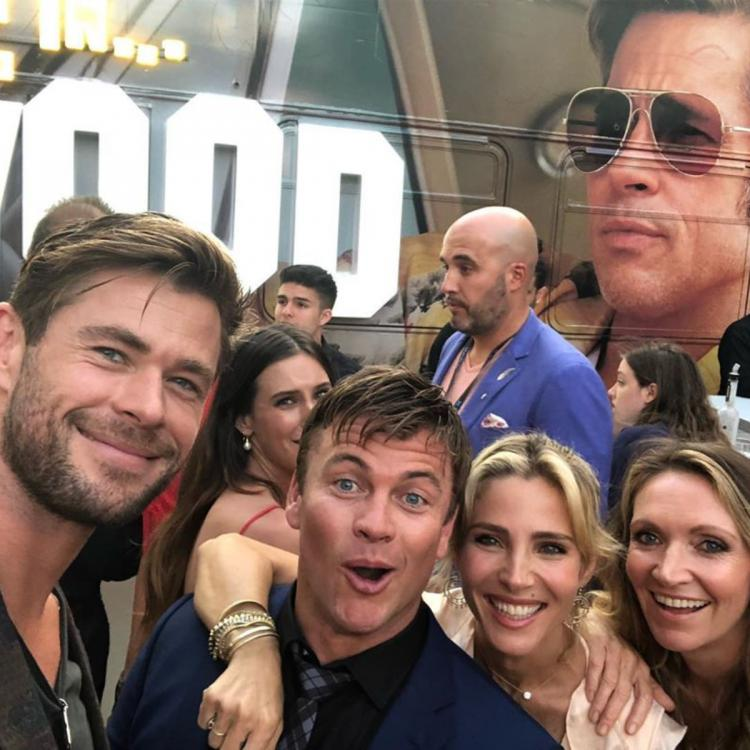 Thor: Love and Thunder star Chris Hemsworth takes an 'epic selfie' with Brad Pitt; Check it out