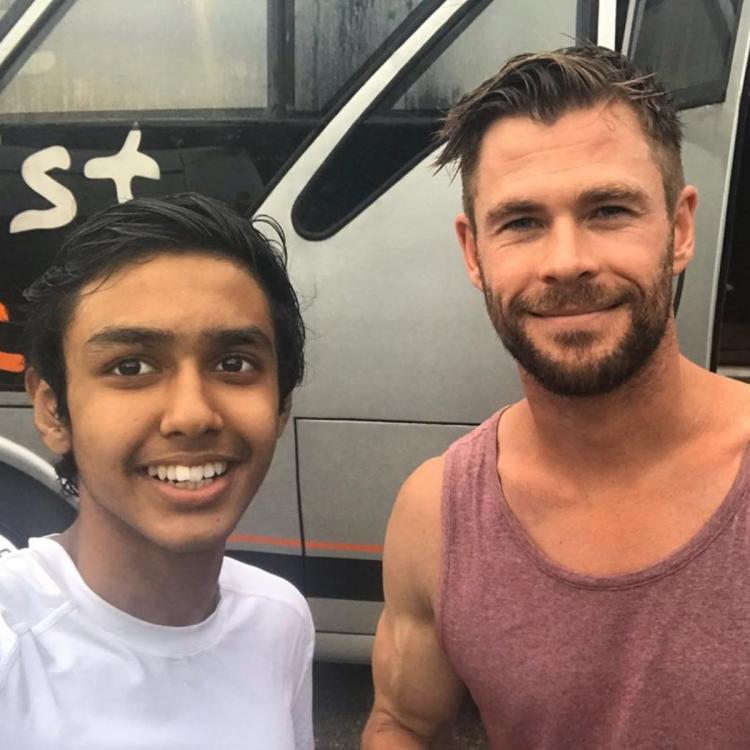 EXCLUSIVE: Extraction star Chris Hemsworth wore wigs, played pranks with crew on sets reveals Rudraksh Jaiswal