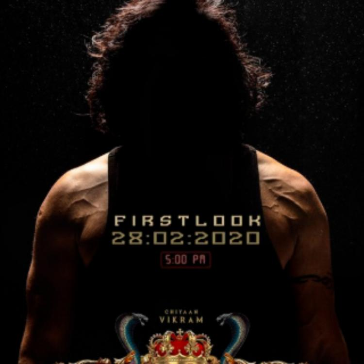 Cobra: Makers reveal the release date of Chiyaan Vikram's FIRST LOOK from the film by sharing a teaser poster