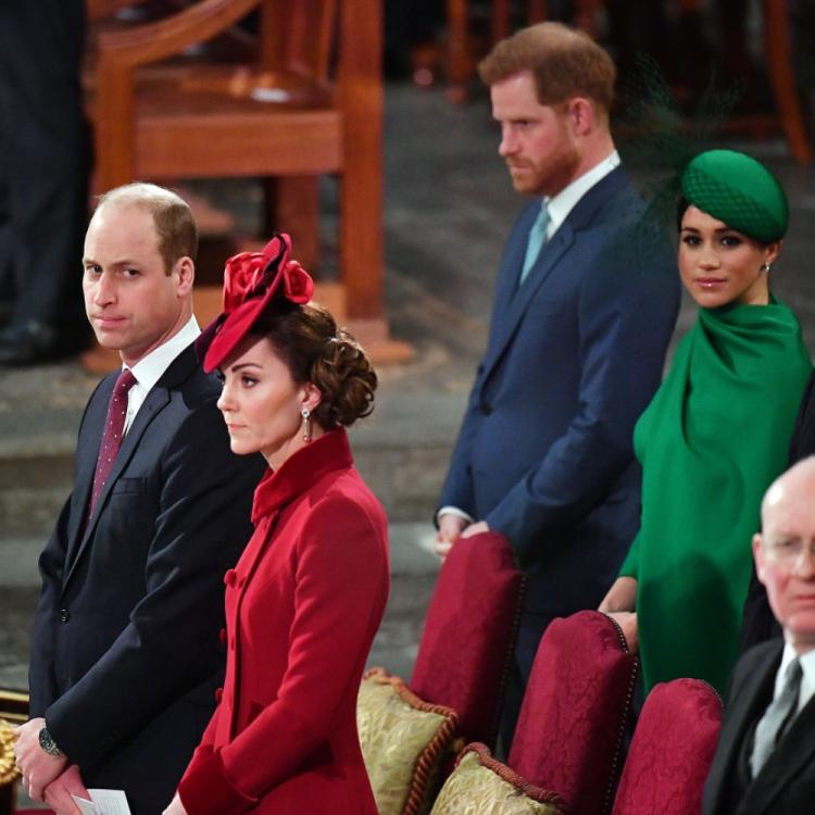 PHOTOS: Prince Harry & Meghan Markle join Prince William & Kate Middleton at the Commonwealth Day 2020 service