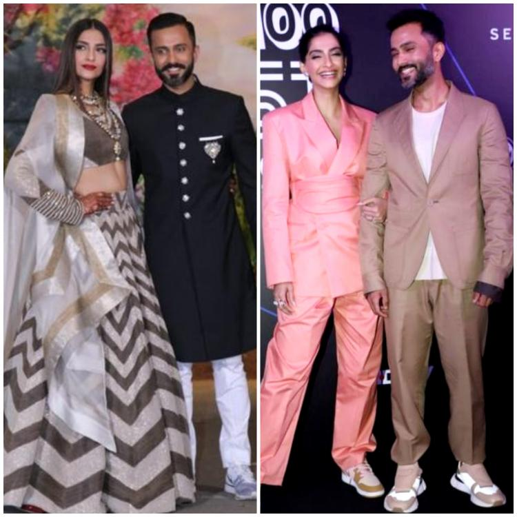 Couple Style: 6 Times Sonam Kapoor and Anand Ahuja proved that they are ALWAYS fashionably forward