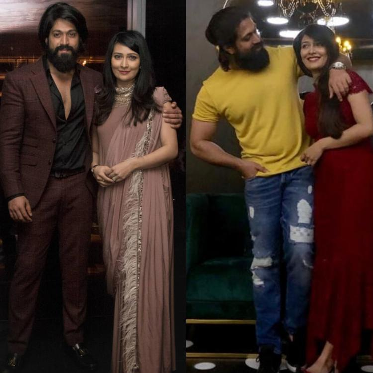 Couple style: Yash and Radhika Pandit's fashion is all about keeping it simple with a contemporary twist