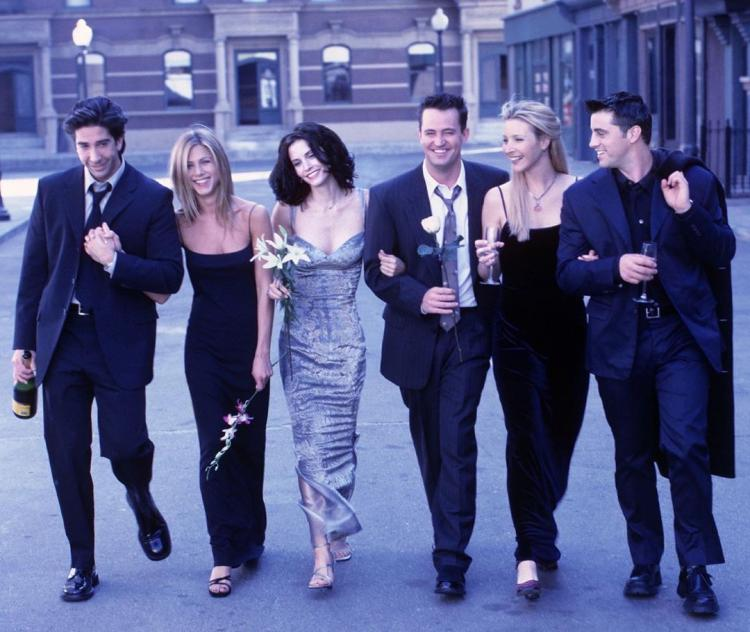Friends premiered 25 years ago on September 22, 1994.