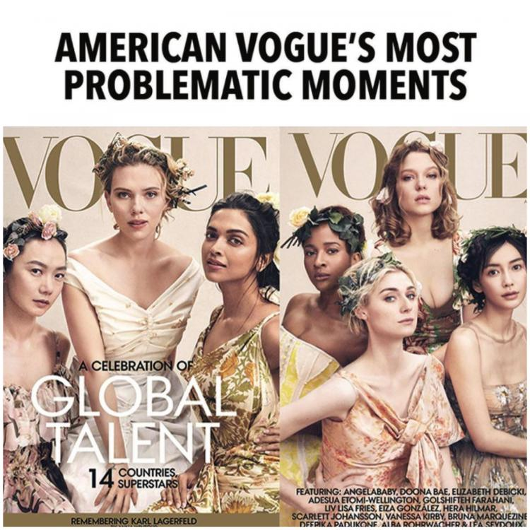 Deepika Padukone used as a 'prop' on a magazine cover? Diet Prada scrutinises racist behaviour by Vogue
