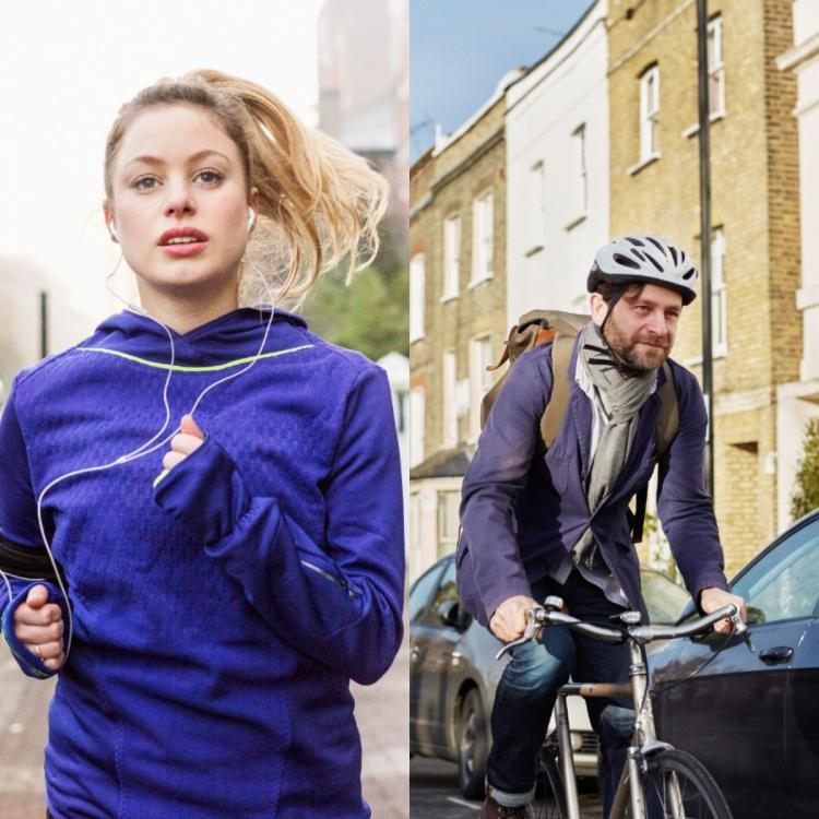 Health & Fitness,Benefits of Cycling,Benefits of Running