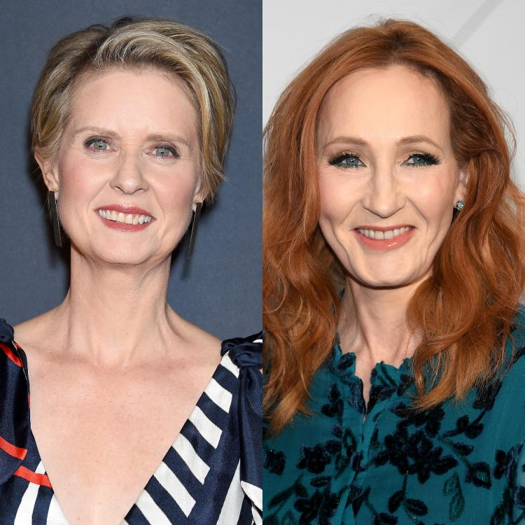 Cynthia Nixon 'baffled' by J.K. Rowling's tweets; Says they were 'really painful' for her transgender son