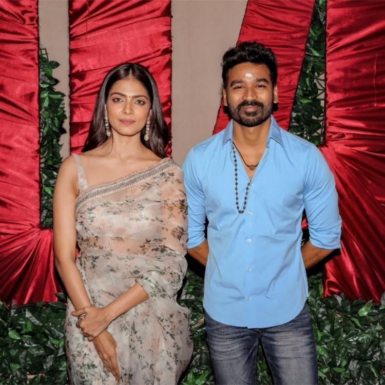 Dhanush and Malavika Mohanan's next with Karthick Naren goes on floors; See PHOTOS from the pooja ceremony