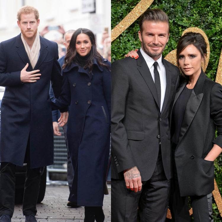 David and Victoria Beckham want Prince Harry and Meghan Markle back in the UK for Brooklyn Beckham's wedding?