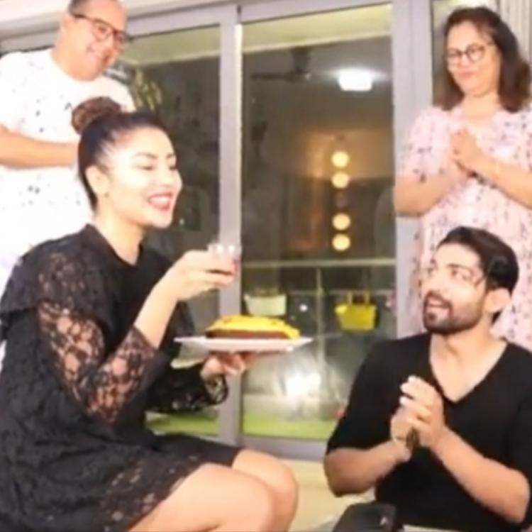 Debina Bonnerjee celebrates birthday with hubby Gurmeet and BFF's Rashami Desai, Munmum Dutta via a video call
