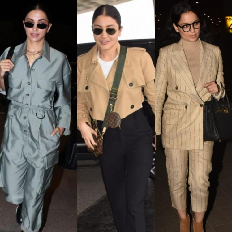 Deepika Padukone, Anushka Sharma or Kangana Ranaut; Whose airport look did you love the most? COMMENT