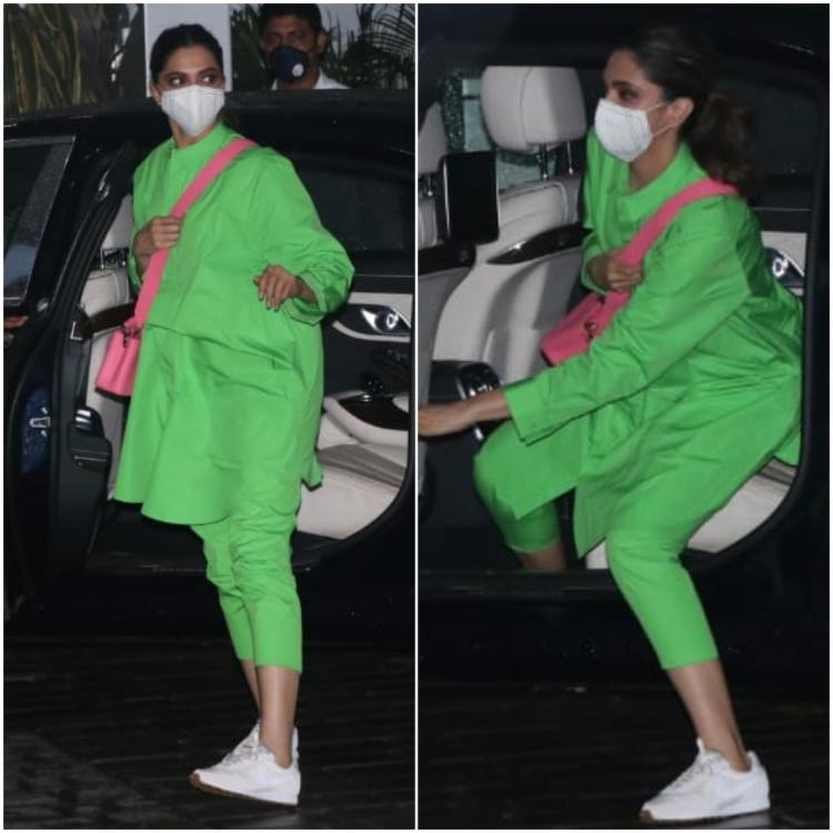 Deepika Padukone gives you a lesson on colour blocking and street style all in one; Yay or Nay?