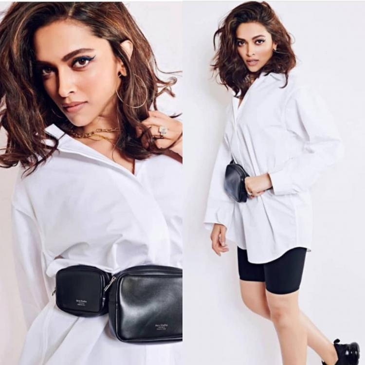 Deepika Padukone rocks the perfect concert attire in a comfy white shirt by Jacquemus; Yay or Nay?
