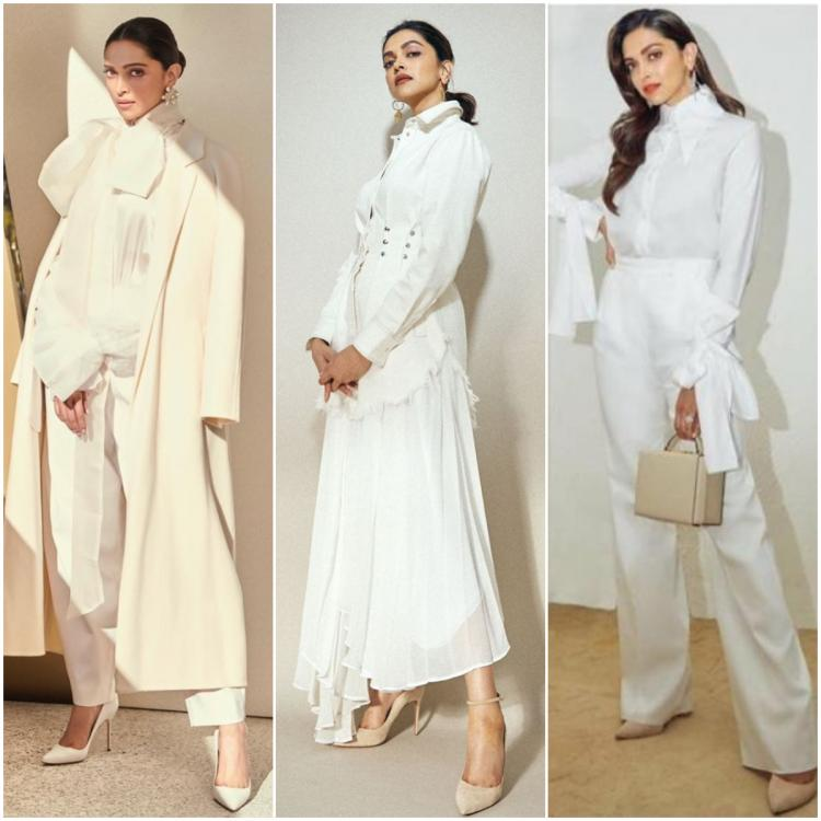 Deepika Padukone is the QUEEN of rocking all white outfits and we have enough proof