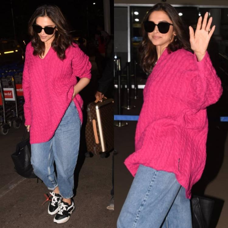 Deepika Padukone makes a comfy statement at the airport in Off White & Balenciaga; Yay or Nay?