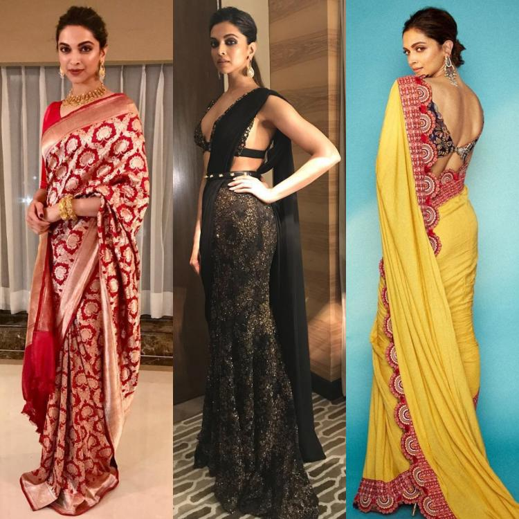 Deepika Padukone's love for sarees is limitless: ALL the times she proved nobody looks as good in the drape   PINKVILLA