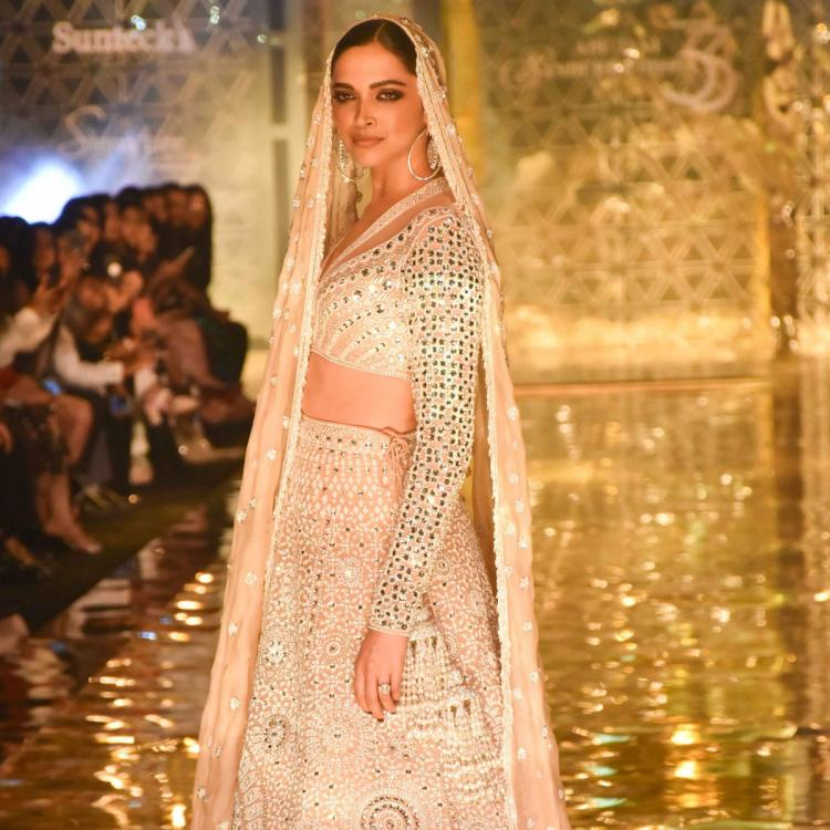 Deepika Padukone flaunts her desi girl avatar in a golden outfit as she sends Holi wishes to fans; See Post