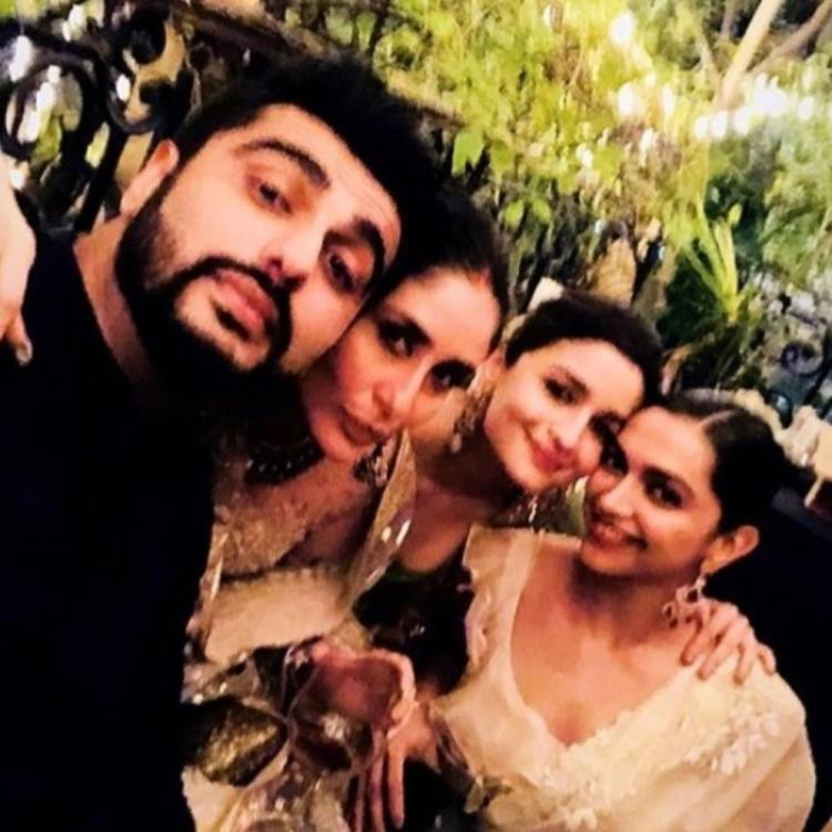Deepika Padukone, Kareena Kapoor, Alia Bhatt & Arjun Kapoor's throwback PIC from a Diwali bash is unmissable