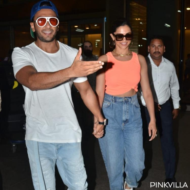 PHOTOS: Deepika Padukone and Ranveer Singh are one happy couple as they return to the bay post their vacation