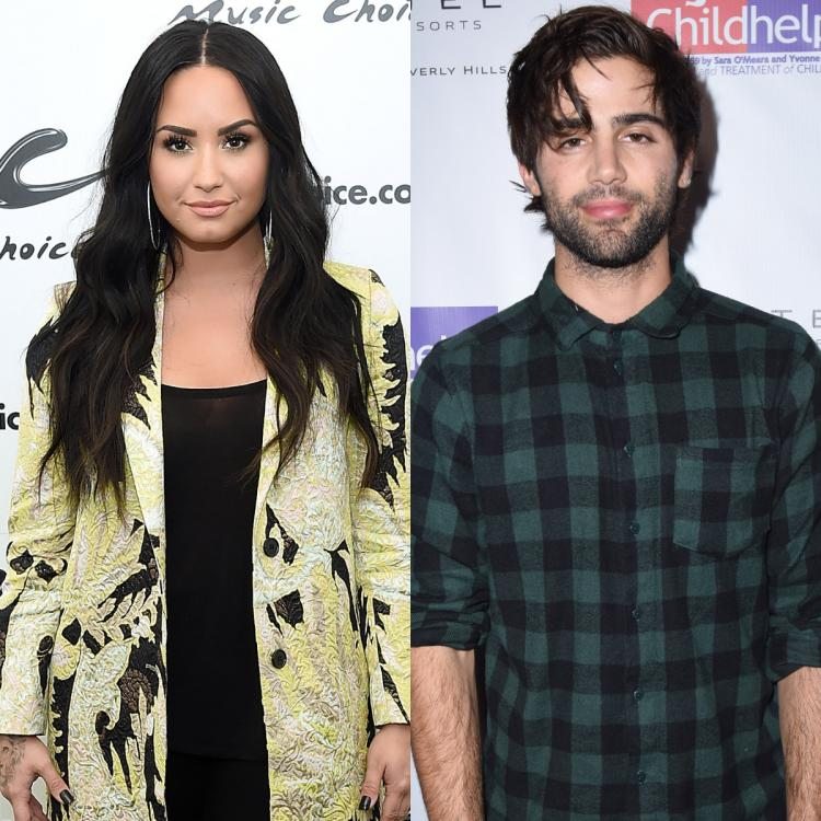 Demi Lovato,Hollywood,Max Ehrich